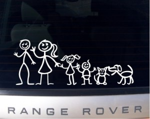 """found under Google Image search, under """"free images of stick family bumper stickers"""""""