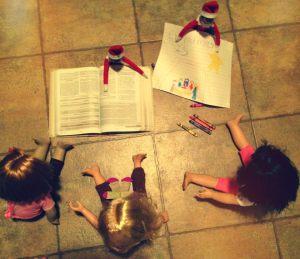 elves reading